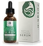 Peptid Complex Serum - BESTE Anti-Aging-Serum - Anti-Falten-Hautpflege - Fortgeschrittene Lieferung - Gesichts-Hautpflege - Natürlich & Organisch - Plump, Glatte und gleichmäßige Haut - Für Kollagen-Produktion und optimale Haut Gesundheit - Amazing Guarantee 30ml