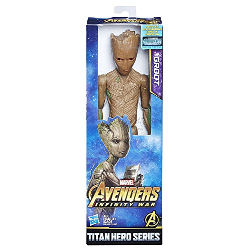 Marvel Infinity War Titan Hero Series Groot with Titan Hero Power FX Port