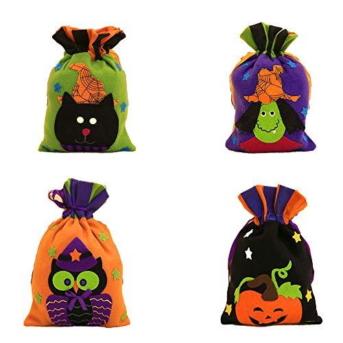 High After Kostüm Ever Halloween - BlackStree Halloween-Einkaufstasche Kinder Urlaub Süßigkeiten Tasche Hexe Kürbis Ziehen Seil Tasche Party Verkleiden Requisiten 27CM kostüm