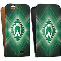 Huawei Ascend G7 Tasche Schutz Hülle Walletcase Bookstyle Werder Bremen Fanartikel SV Fußball