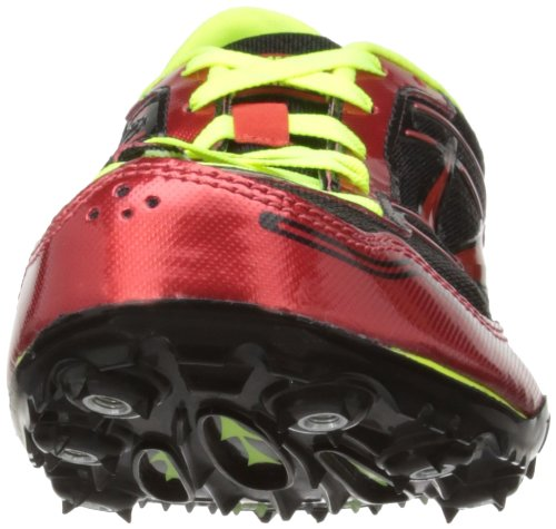 Brooks Pr Md 46.61, Chaussures d'athlétisme homme Multicolore (high Risk Red/nightlife/black)