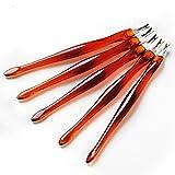 Coscelia Kit 5pc Dead Skin Fork Trattamento Cuticole Spingi Cuticole Manicure Pedicure immagine