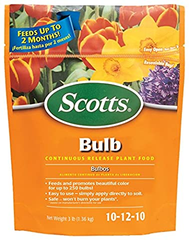 SCOTTS MIRACLE GRO - Slow Release Bulb Food, 3-Lb.