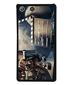 PrintVisa Designer Back Case Cover for Sony Xperia M5 Dual :: Sony Xperia M5 E5633 E5643 E5663 (Old Collection Movies Tv Picture Film Cameraman)