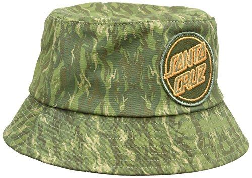 Camo Santa (Santa Cruz Herren Camo Bucket Baseball Cap, Mehrfarbig - Multicoloured (Camouflage), One Size)