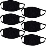 #5: PINKIT Dust/Anti Pollution Protect Face Mask Mouth & Nose Respirator (Pack Of 6),Black