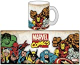 Semic Distribution - SMUG013 - Ameublement et Décoration - Mug Marvel Retro Série 1 - Marvel Group
