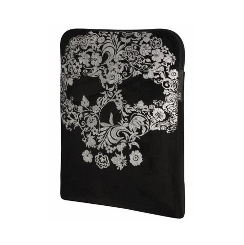 """SOX - Custodia a busta Skull per computer portatili da 12,1"""""""