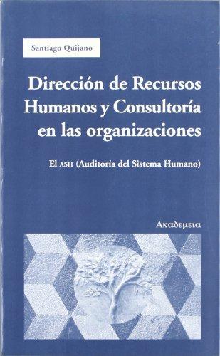 Libro Dirección de recursos humanos y consultoría en las organizaciónes