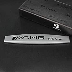 amg mercedes schriftzug matt emblem logo aufkleber. Black Bedroom Furniture Sets. Home Design Ideas