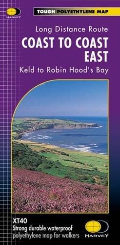 Coast to Coast East XT40: Keld to Robin Hood's Bay (Route Map) -