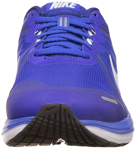 Nike Dual Fusion X 2, Chaussures de Running Compétition Homme Multicolore (Racer Blue/white/deep Royal Blue/white)