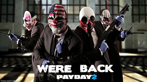 payday-2-customized-43x24-inch-silk-print-poster-seide-plakat-wallpaper-great-gift