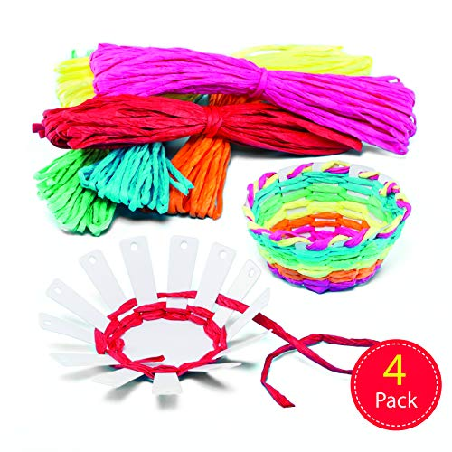 Baker Ross Weaving Kit, Assorted, 10cm