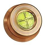 Viborg 50HZ Gold 3-In-1 Plattenklemme LP Disc Stabilizer Drehscheibe für Vibrationen ausgeglichen