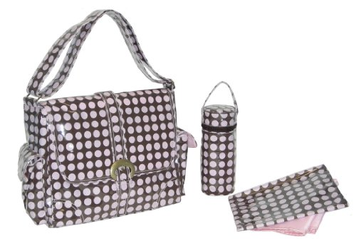 kalencom-fashion-diaper-bag-changing-bag-nappy-bag-mommy-bag-laminated-buckle-bag-heavenly-dots-choc