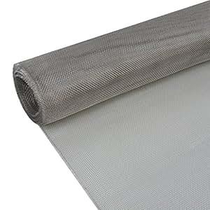 festnight edelstahl 202 drahtgewebe edelstahl drahtgeflecht 100x1000cm als fliegengitter. Black Bedroom Furniture Sets. Home Design Ideas