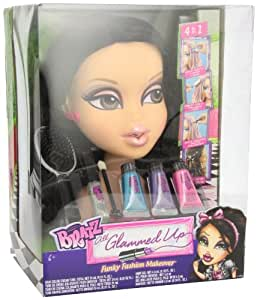 bratz hair styling bratz all glammed up funky fashion makeover styling 3527
