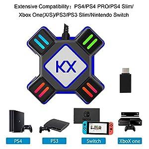 Adapter Tastatur und Maus Konverter FPS Spiel für Nintendo Switch/Xbox One / PS4 / PS3 Konsolen