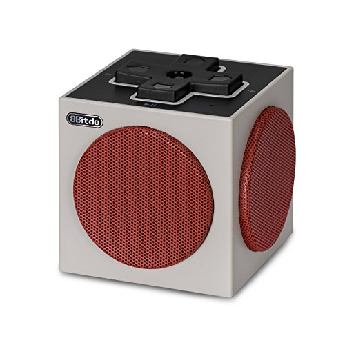 Price comparison product image BeneGlow® 8Bitdo Portable Wireless Classic Retro Cube Bluetooth Speaker