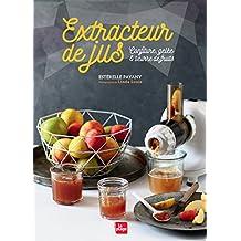Extracteur de jus confitures, beurre de fruits, gelée