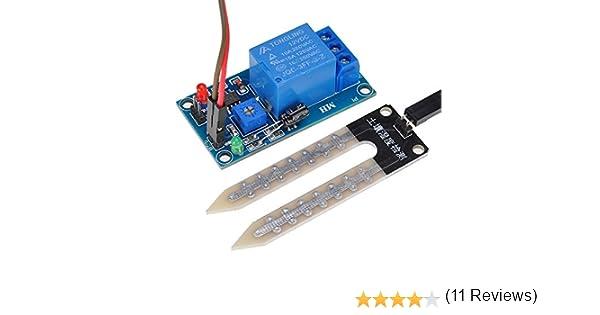 Module de contrôleur de relais de contrôle de capteur d/'humidité du sol