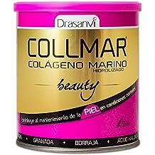 Collmar Beauty 275 g – Colágeno marino hydrolysé enzymatiquement, aceite de onagro, Granada,