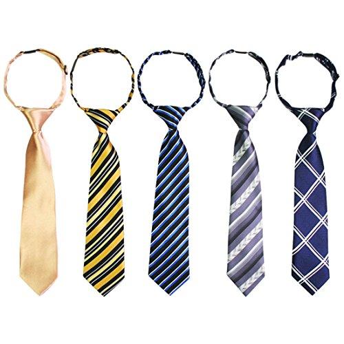 kilofly Epoint verstellbares Umhängeband Krawatte Jungen Baby Sonnenbrille Value Set von 5 Gr. 8-12 Jahre, set5 B