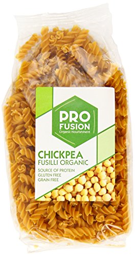 Profusion Organic Gluten Free Chick Pea Fusilli Pasta 300 g (Pack of 6)
