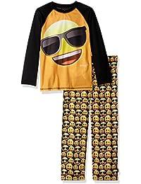 Emoji Boys This is My Happy Face Pyjamas PJS Nightwear Age 5-12 Years