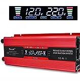 Lvyuan 1000W/W Peak Power inverter DC 12V a 230V 240V AC con convertitore auto USB adattatore AC prese LCD Display