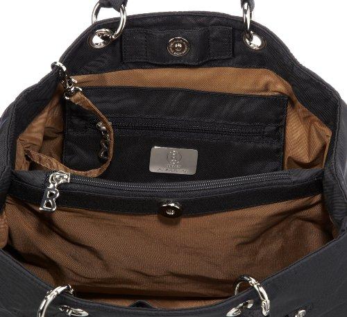 Bogner Leather Shop X 00Spirit Shop X, Sac à main femme Noir-TR-F4-365