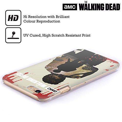 Offizielle AMC The Walking Dead Hand Silhouetten Ruckseite Hülle für Apple iPhone 6 / 6s Glenn