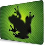 Sidorenko Tappetino per Mouse da Gioco | Gaming PC Mouse Pad | 240x200x2mm | Special surface improves speed and precision | Gomma Antiscivolo Superficie | verde