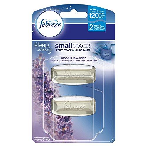 Febreze Duftdepot Lufterfrischer Mondscheinlavendel Nachfüller, 5.5ml, 4er Pack (4 x 2 Stück) (Febreze Nachfüller Lavendel)