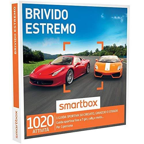 Smartbox - brivido estremo - 1350 esperienze di guida sportiva e attività estreme, cofanetto regalo, avventura