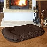 Beddog letto per cane MASTI XXL fino a XXXL, 8 colori a scelta, cuscino per cane, divano per cane, cestino per cane, marrone XXXL