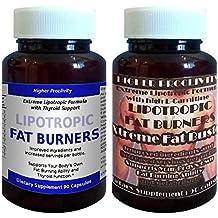 Pildoras Higher Proclivity lipotrópicos, reembolso del 100% GARANTIZADO, con el apoyo adicional de la tiroides (fuentes de yodo y L-tirosina) ** con Botella ...