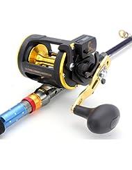 Yongse OSM 05L 6.0: 1 Sea Fishing Reels Precise Réducteurs Copper Pour la pêche en mer