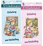 Einladungskarten zum Schulanfang: VE: 10 sortiert