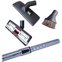 Tubo para aspiradoras 35mm, 272mm de anchura boquillas para suelos duros y cepillo redondo compatibles