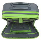 Sacoche d'ordinateur 38,1cm 40,6cm portable sur roulettes pour voyage