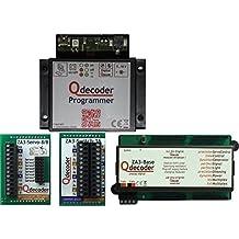 QD097: Qdecoder Startpaket mit Programmer, ZA3-Base, ZA3-Servo-8/8 und ZA3-Switch-16