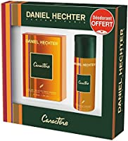 DANIEL HECHTER Caractere Coffret Homme 2 Produits Eau de Toilette 50 ml, Déodorant 150 ml