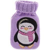 Knitted Hand Warmer Lila Handwärmer Wärmekissen mit Pinguinmotiv preisvergleich bei billige-tabletten.eu