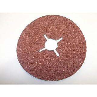18sortierte 150mm Abracs Schleifscheibe Fiberscheiben, selbstklebend, 406080120180220Körnung 3von jeder Disc