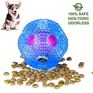 IQ-Treat-Ball-Food-Dispensing-Toys-Cleans-Teeth-Interactive-Dog-Toy-for-Small-Medium-Large-Dogs-Durable-Food-Dispensing-Chew-Dog-Ball-Nontoxic-Rubber-and-Bouncy-Dog-Ball