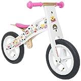 BIKESTAR® Original Premium Kinderlaufrad für modebewusste Prinzessinnen ab 3 Jahren ★ 12er Natur...