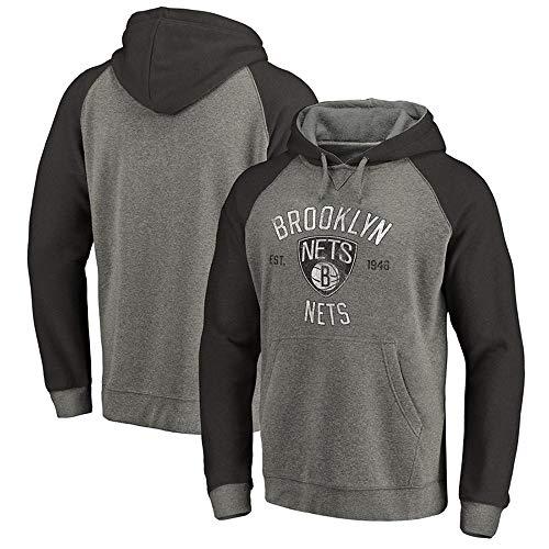 NBA Hoodie Brooklyn Nets Sport Jersey Hoodie Basketball T-Shirt Lässiges Oberteil (Brooklyn Nets-t-shirt)