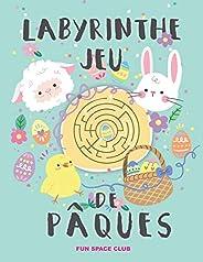 Labyrinthe Jeu de Pâques: Labyrinthe enfant 3 4 5 ans, Joyeuses Pâques!
